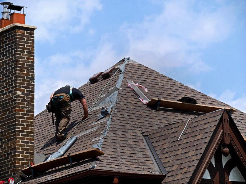 Roofing slate tips